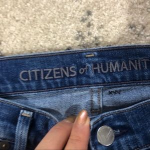 Citizens Of Humanity Jeans - Citizens of humanity Dani cropped denim jeans